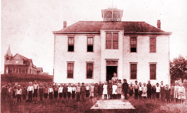 Public School, Mulhall, Oklahoma, 1905