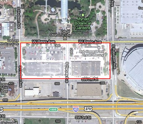 This is the Ford Site, where the proposed convention center will be built.