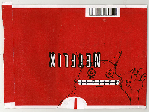 Netflix Envelope Art