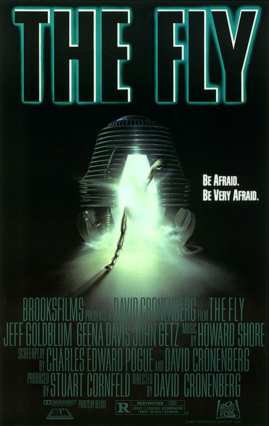Poster for The Fly (1986)