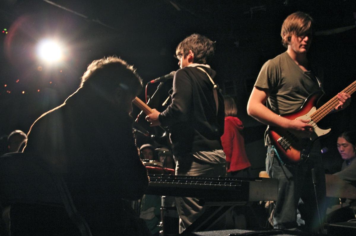 Left to Right: Brennan Barnes, Alex Larrea, Derek Moore and Julian Shen.
