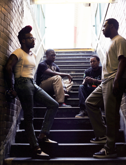 """Robert Glasper Experiment's forthcoming album Black Radio draws from jazz, hip hop, R+B and rock, but refuses to be pinned down by any one tag."" Image curtosey of the Robert Glasper Experiment."
