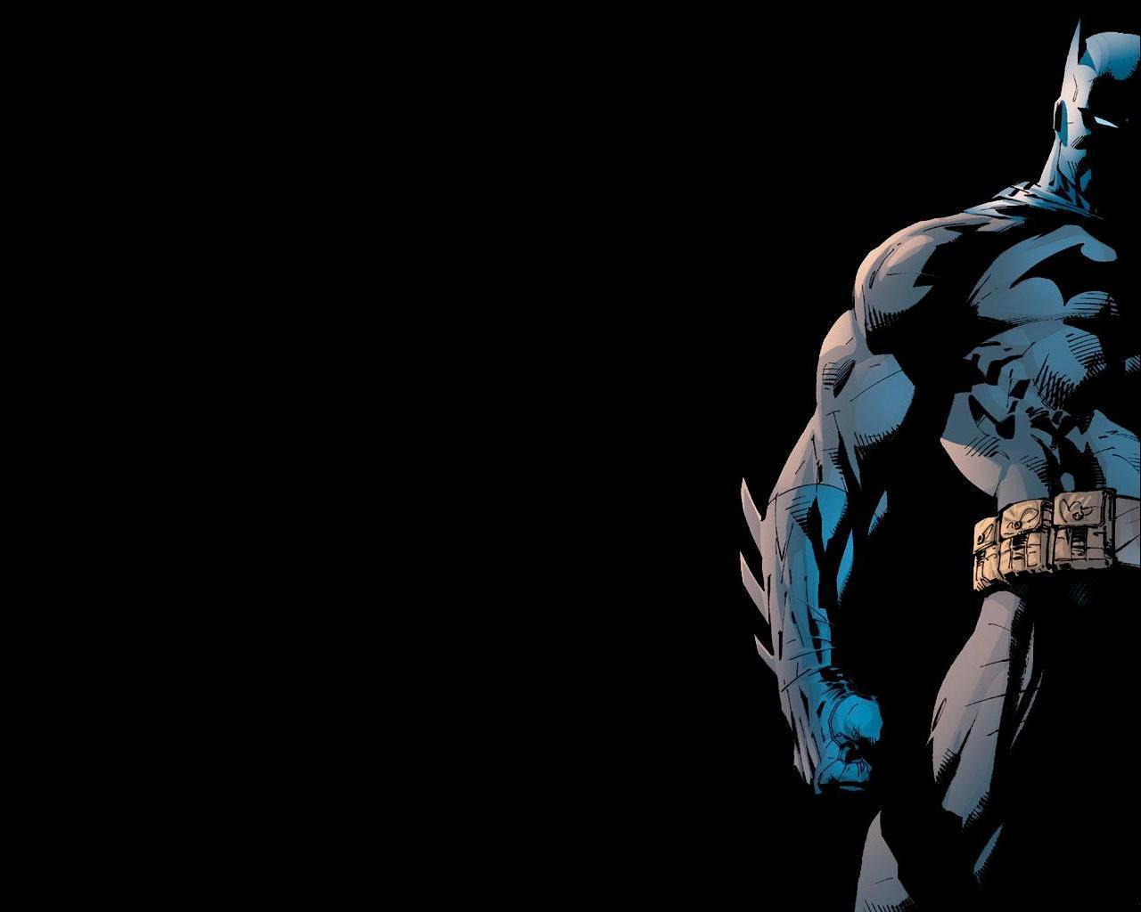 The Dark Knight. Art by Tim Sale.