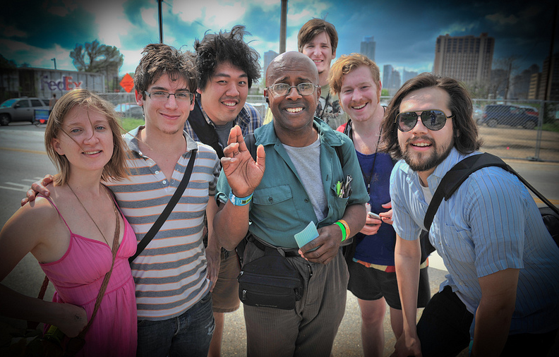 Another highlight from our time at SXSW: David Liebe Hart! Photo by Doug Schwarz.