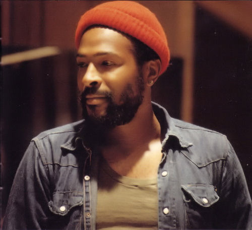 Marvin Gaye also came up at the table.