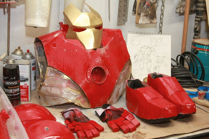 Assembling the Avengers - Brian Berlin's IRON MAN!