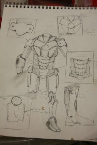 Assembling the Avengers - Brian Berlin's sketches!