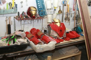 Assembling the Avengers - Brian Berlin's workshop!