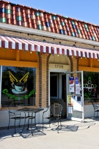 Coffy's Cafe, Exterior
