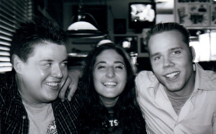 Rockey, Leah and John circa 2002
