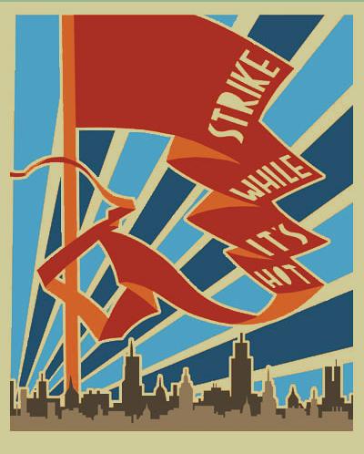 Poster art by John MacPhee. justseeds.com