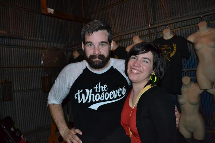 Look, guys - I met Dan Smith from Listener! Here's photo proof, thanks to the great Cary Cody.