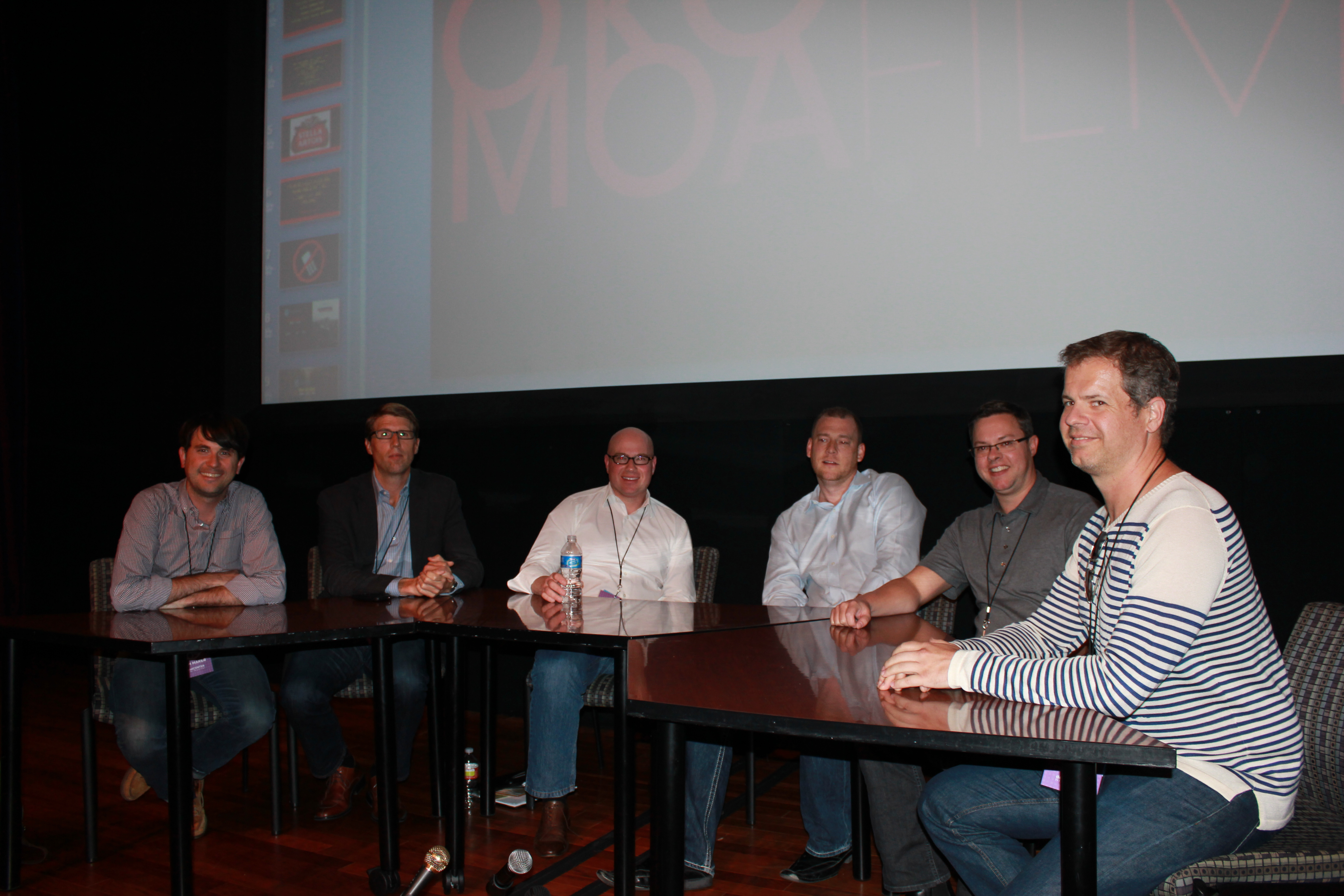 Panel Guests: Malcolm Pullinger, Jason Cleveland, Brian Cleveland, Jason Connell, Alex Barder, Chad Reinke.