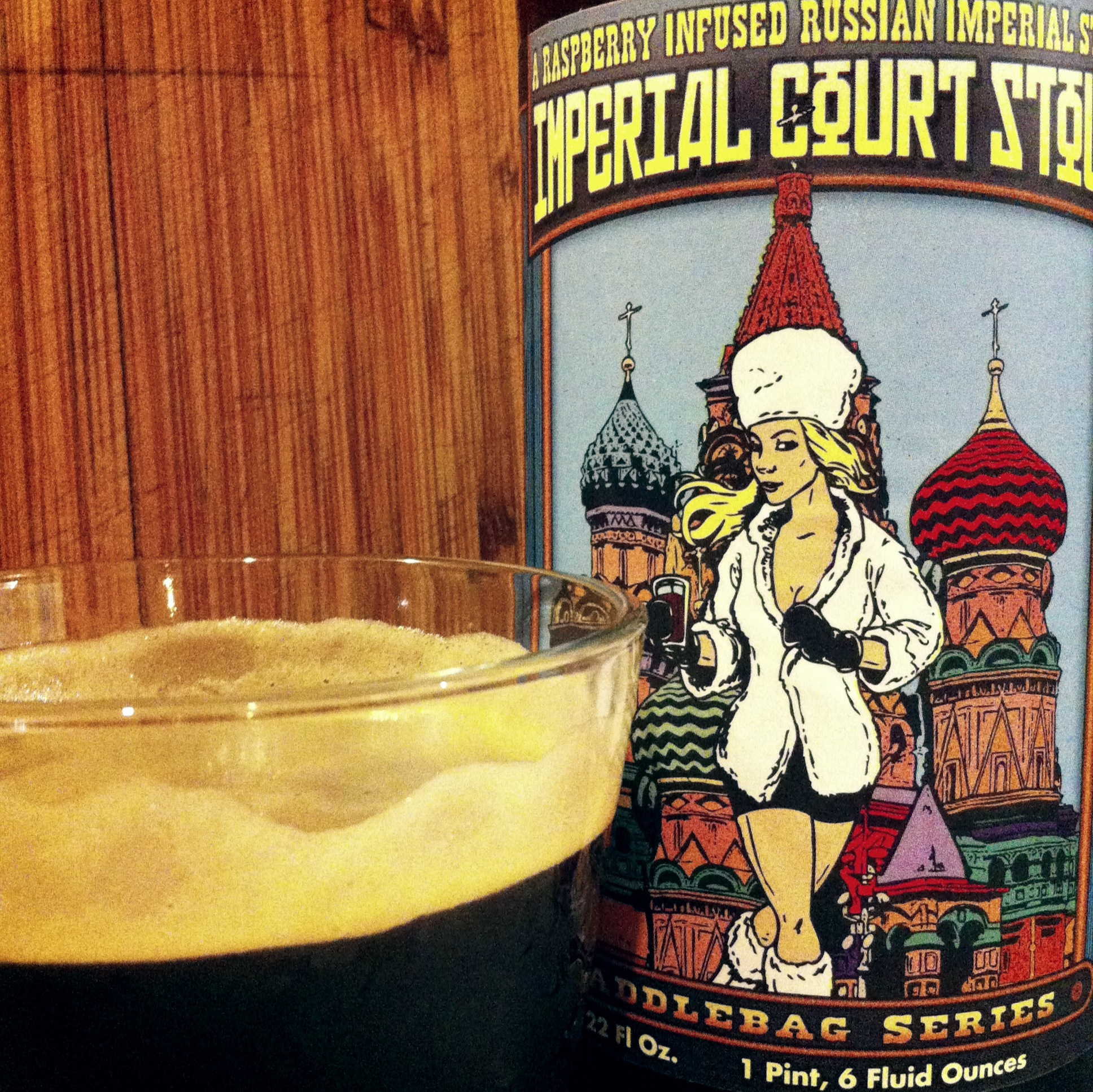 At 9.6% ABV Svetlana will warm you up with her tarty charms.