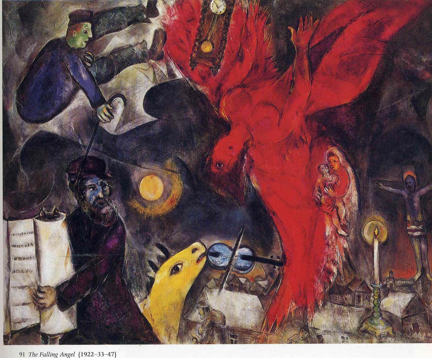 The Falling Angel- Marc Chagal, 1947