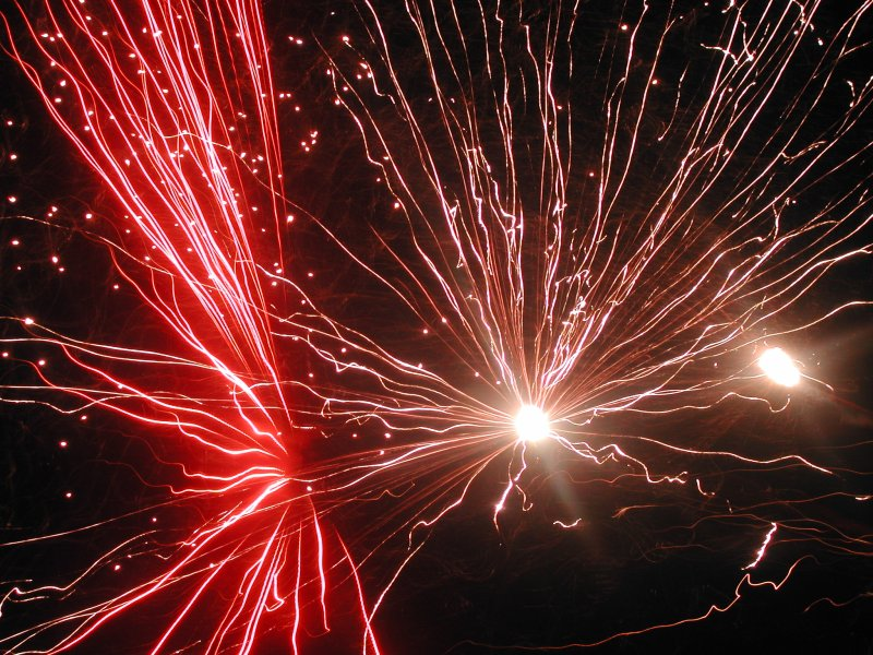 Fireworks! Image from Wikimedia Commons