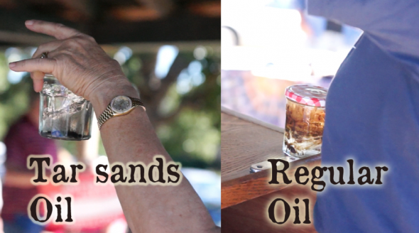 Sarcastic managing editor notes: it's really a shame they can't do something about the tragicness of that font. But hey? What gives with the difference between the sediment tar sands oil vs regular fluid oil? Read on!