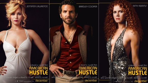 Posters for American Hustle  (Credit - Sony Pictures)