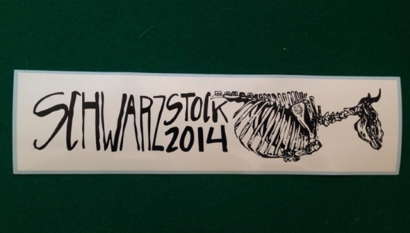 Bad ass Schwarzstock sticker for 2014.
